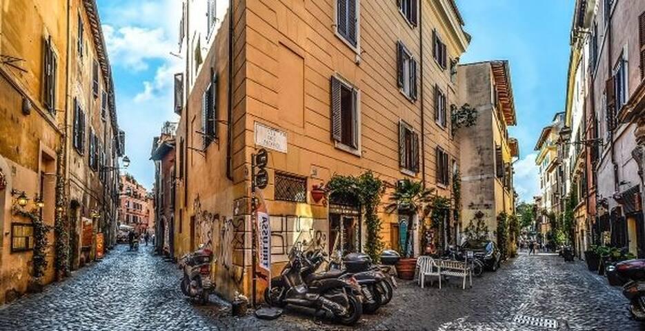 Trastevere appartament