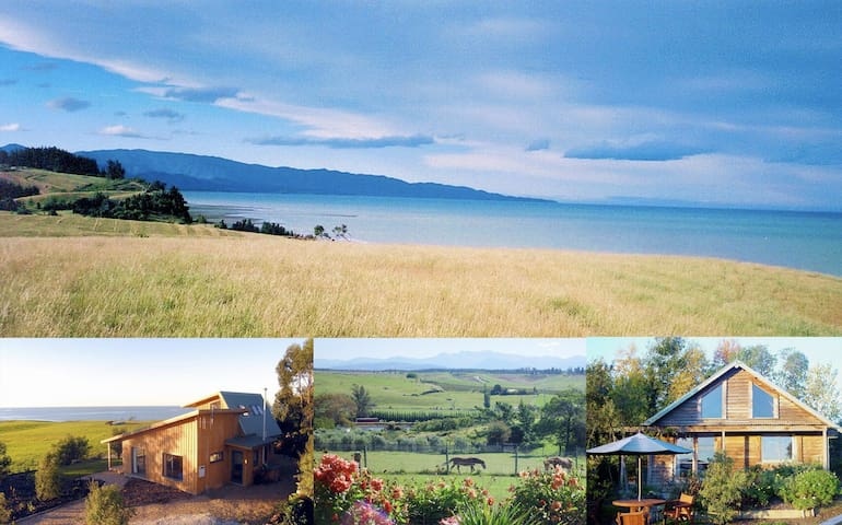 Nelson Coastal Barnstay - the Barn - Tasman - House