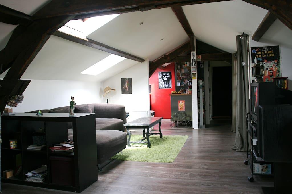 Le salon très cosy !!!
