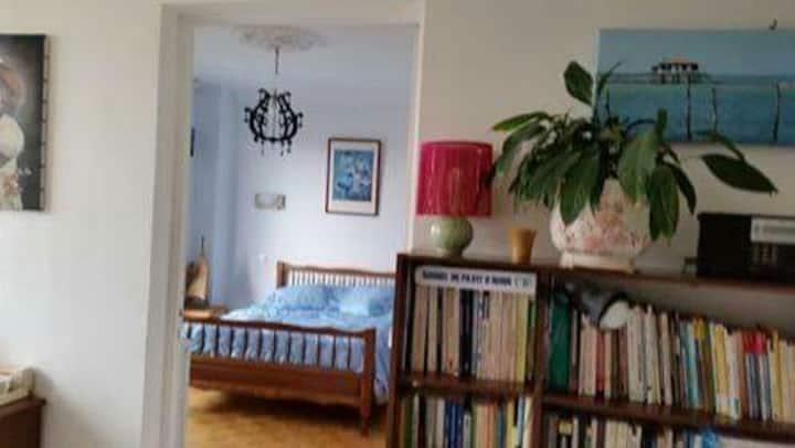 Chambre pour cadre sup au calme avec balcon