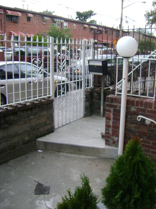 Front Entrance (Gated)