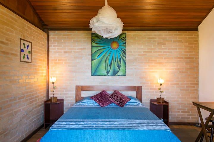 Our romantic bungalow.....