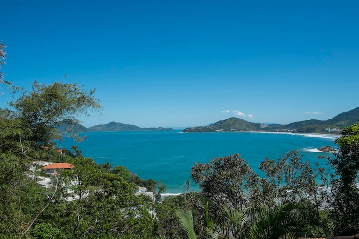 Romantic Bungalow with Ocean View - Ubatuba