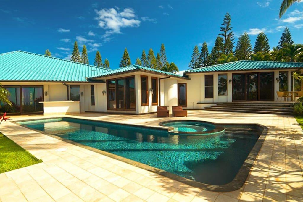 luxury kauai hawaii vacation home