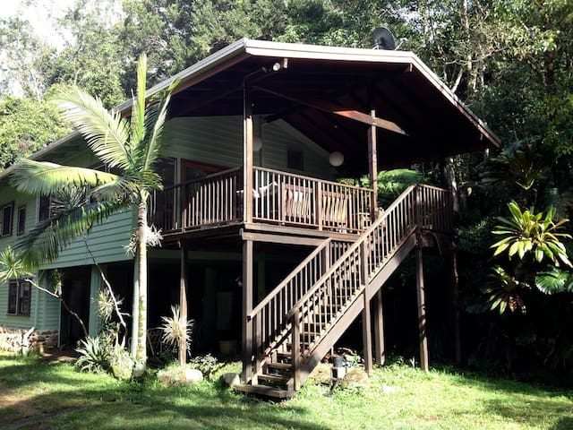 Byron Hinterland Hideaway Retreat - Goonengerry - Casa