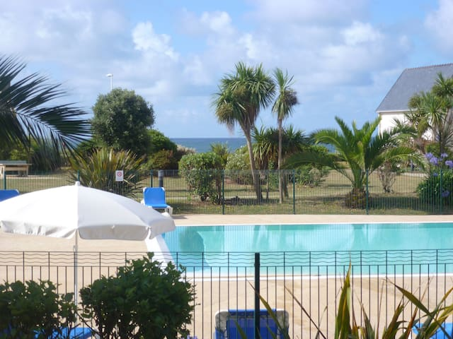 In 50m of the beach(range), the res - Guilvinec - Apartment