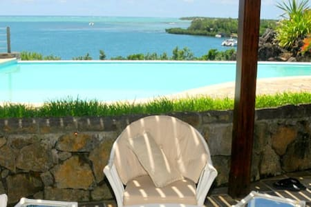 Appartement de la Baie piscine wifi - Trou d Eau Douce