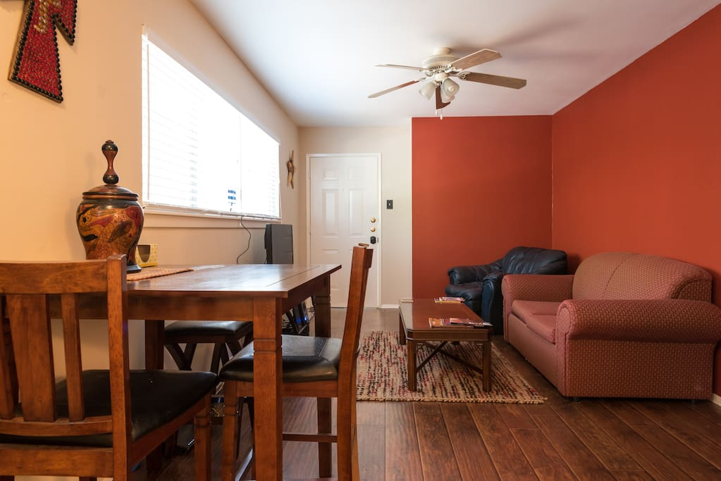 Living Dining Area angle