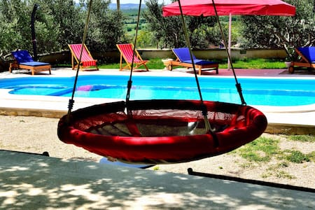 Holiday home Apios with pool