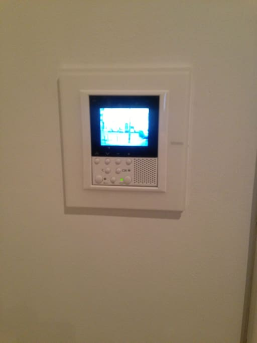 Gegensprechanlage mit Videoüberwachnung