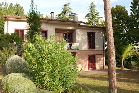 Villa, modern design in the country - Casalfiumanese
