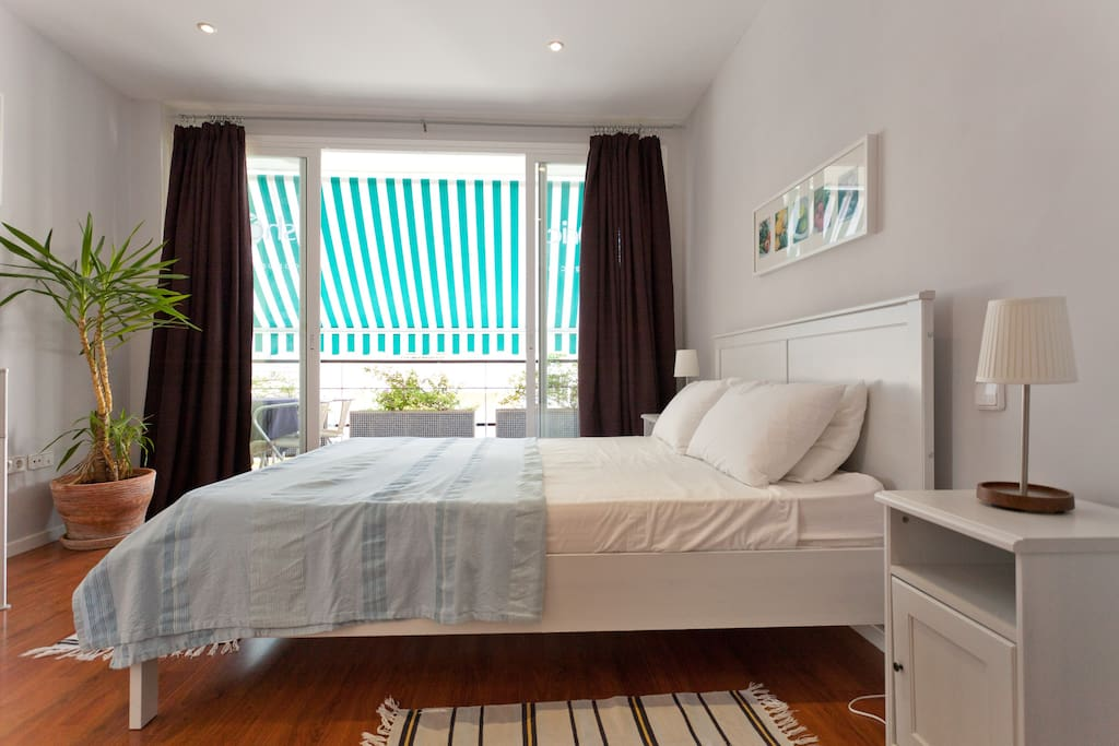 Bedroom from dressing area