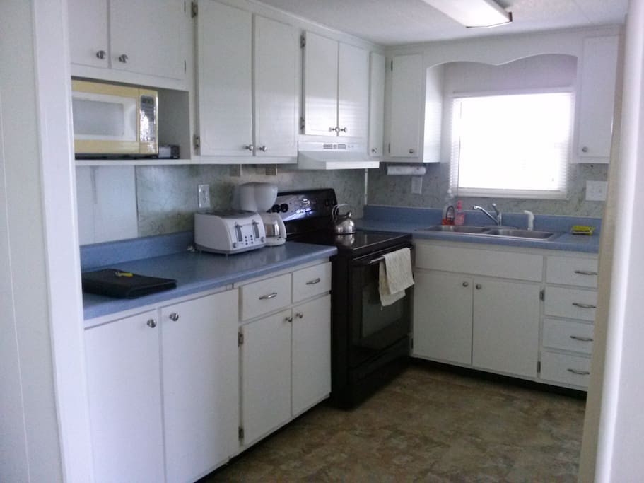 appliances toaster, coffee maker, microwave,