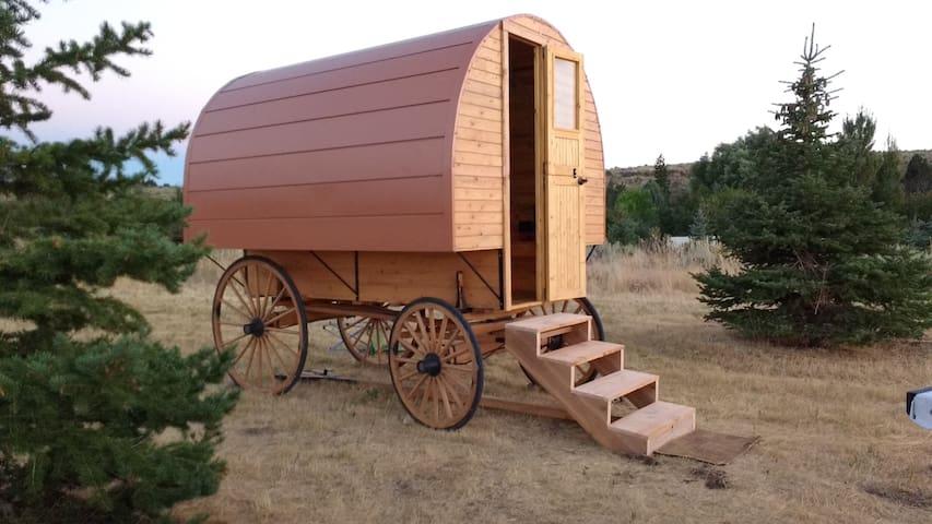 Wanderlust Gypsy Wagon - Malad City - Cabaña