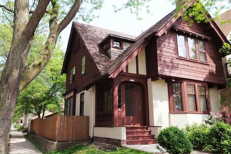 3-East side Arts & Crafts Tudor - Milwaukee