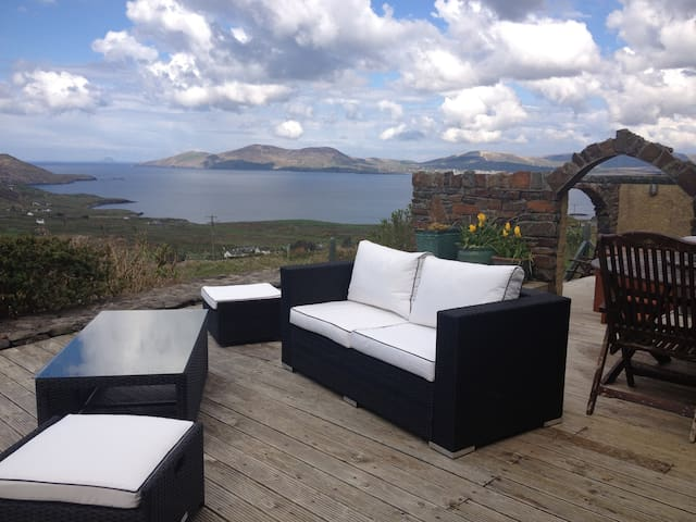 Skellig Rest -  Ocean View Cottage - Waterville - Rumah