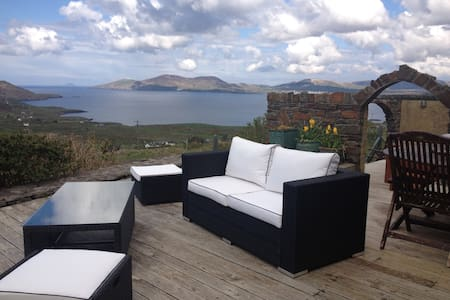 Skellig Rest -  Ocean View Cottage - Waterville - Ev