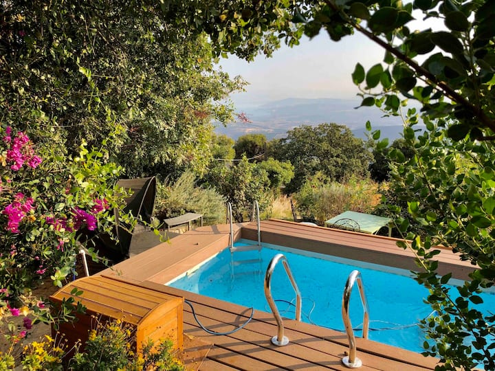 The Rose Garden - Suite with view to the Kineret