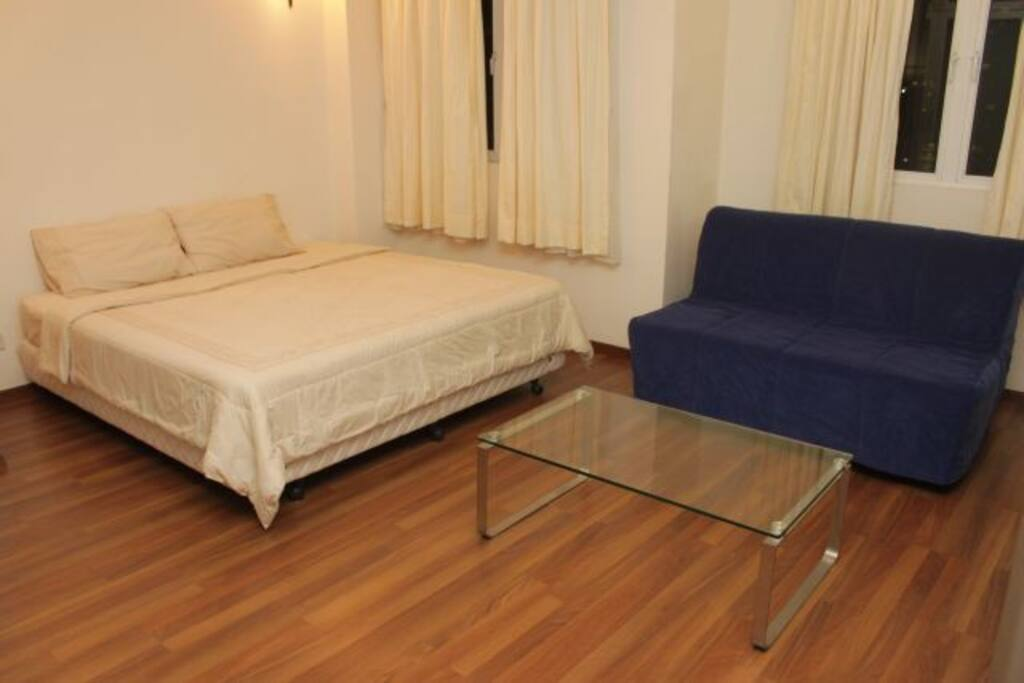 Bukit bintang city center large room for 3 pax apartments for rent in kuala lumpur federal for Sofa bed kuala lumpur