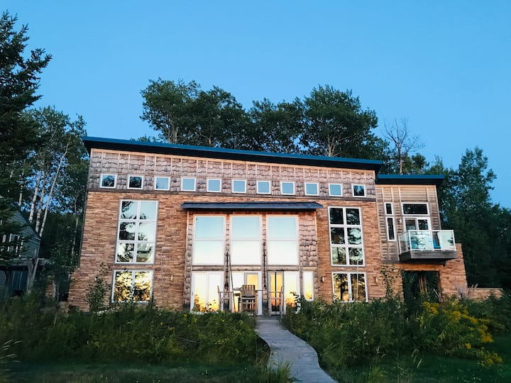 Stunning Bark Point Home on Superior's South Shore