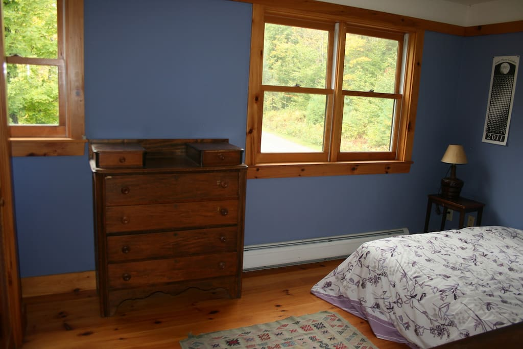 Wonderful views of Mount Mansfield in winter from this room.