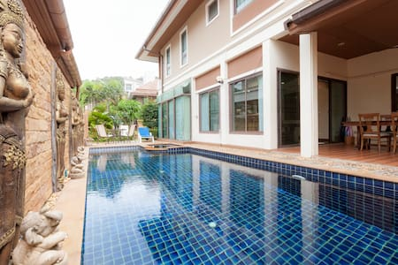 Patong Beautiful private pool villa great location - Patong - Villa