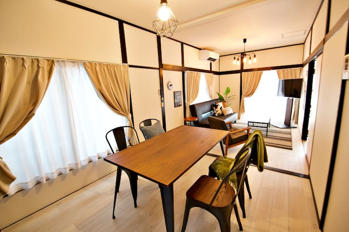 Monthly Rental House★75sqm/Wi-Fi/2min station