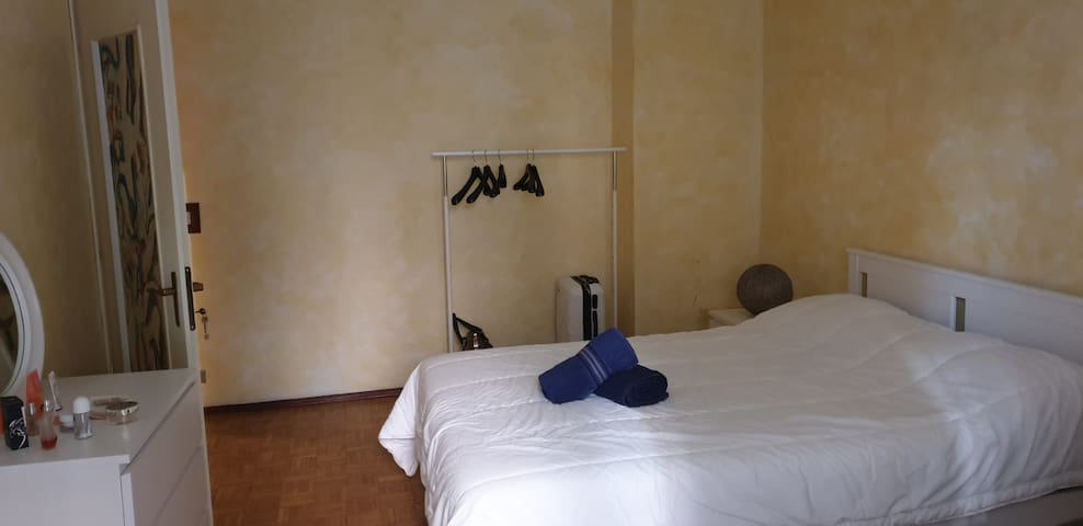 Comfortable room  in large apartment - great stay