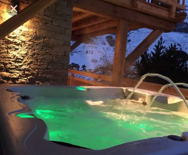 Chalet Vosges grand confort  «le BÔ & SPA»
