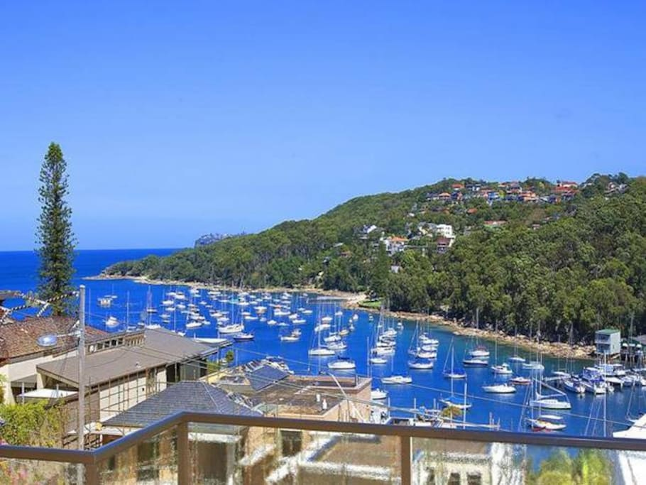 Front Balcony Views to Manly, Fairlight