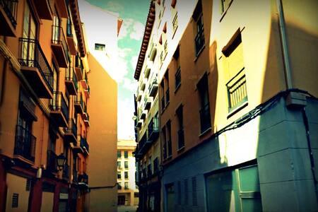 Céntrico apartamento junto a Plaza del Pilar - Сарагоса