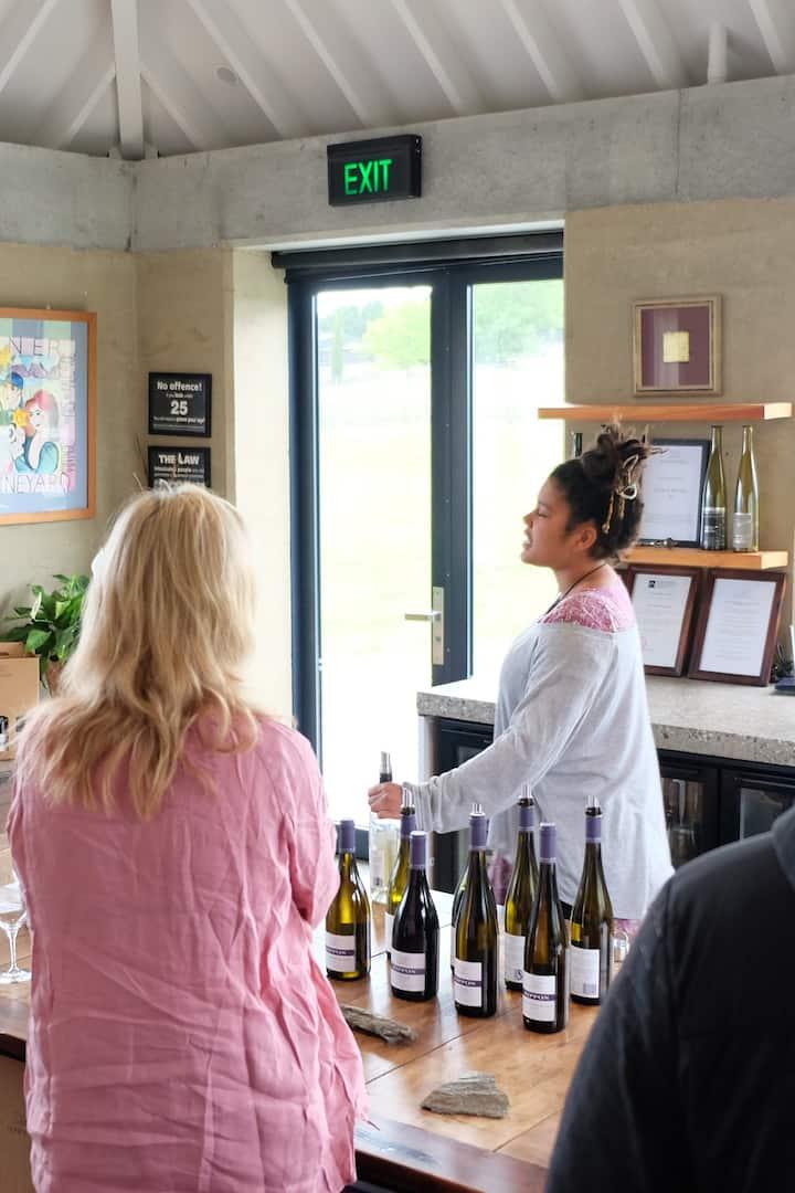 Central Otago Wine tasting