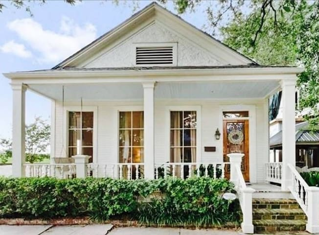 Uptown Historic Cottage Near Audubon Park