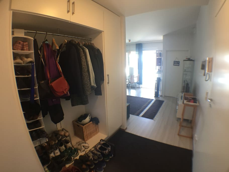 Plenty of space for clothes
