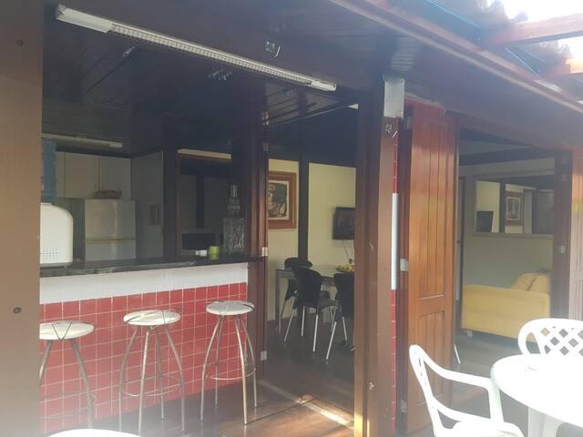 Aluguel de chalé duplo em Barreirinhas (3 suítes)