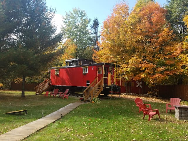 The Lil' Red Caboose :)
