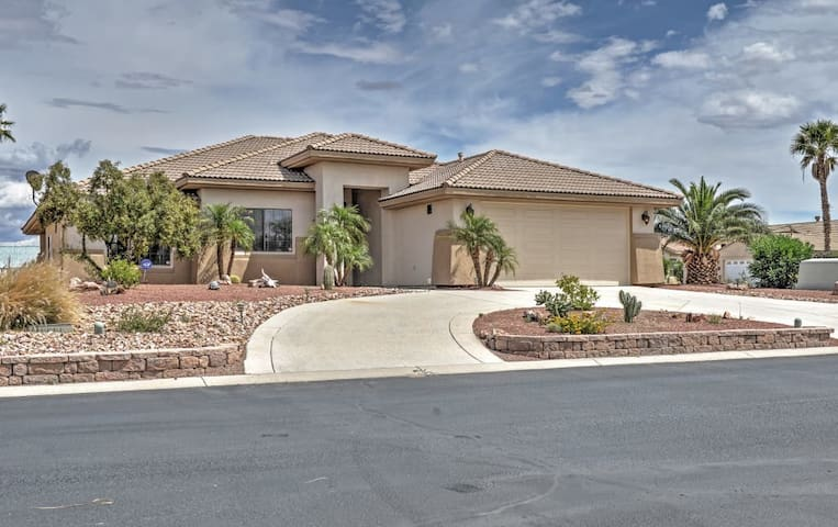 Exceptional 3BR Fort Mohave Lakefront House - Fort Mohave - Talo