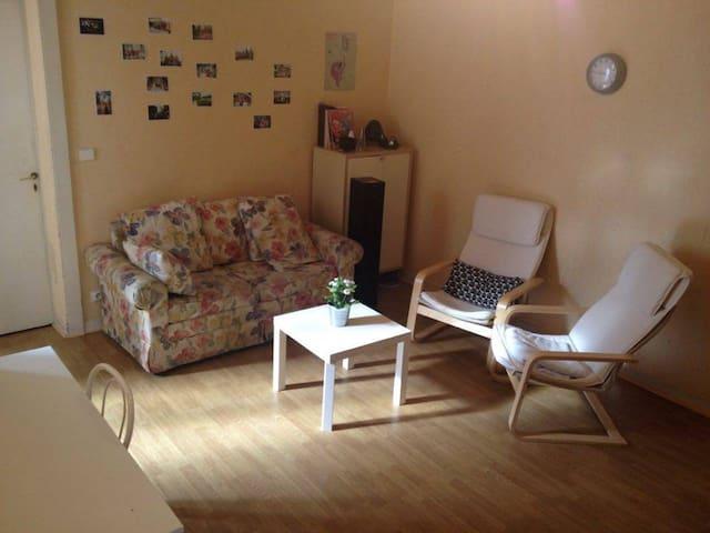 Chambre privée et lumineuse, plein centre-ville - Rennes - Appartement