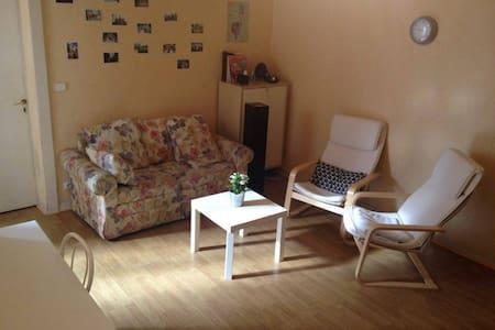 Chambre privée et lumineuse, plein centre-ville - Rennes - Apartmen