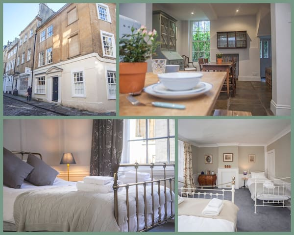 Gorgeous, Georgian Townhouse- Central Bath  (PP)