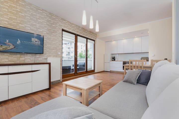 Apartment with balcony in Swinoujscie