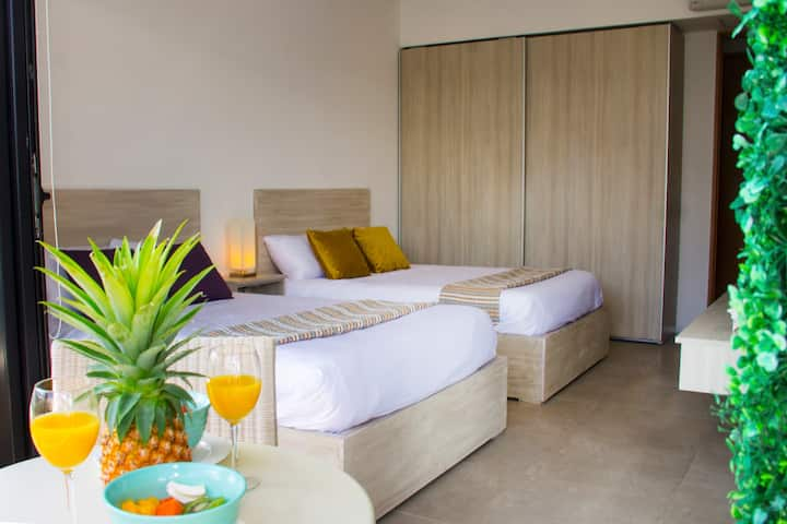Luxury Apartment (double bed) at condo hotel