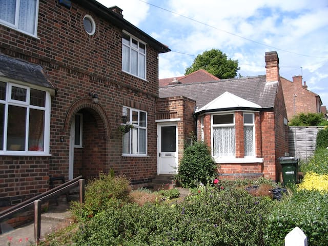 Self-contained annexe and garden - Nottingham - Daire