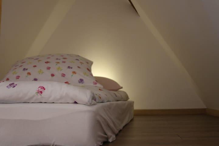 Schlafgelegenheit auf der Empore / Dachspitz