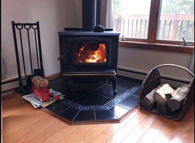 Firewood provided