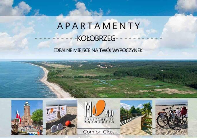 """MS Pro Apartamenty Kołobrzeg """"Comfort Class"""""""