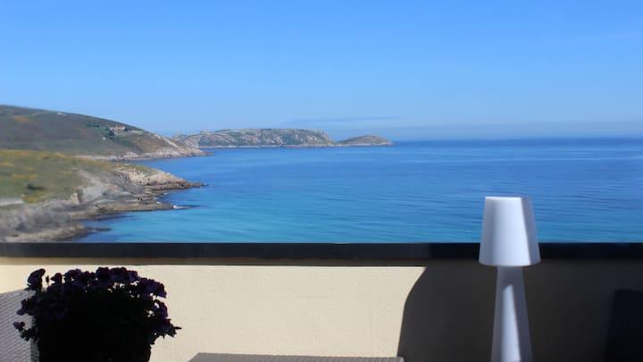 Apartamentos Spellos sobre el mar en Malpica