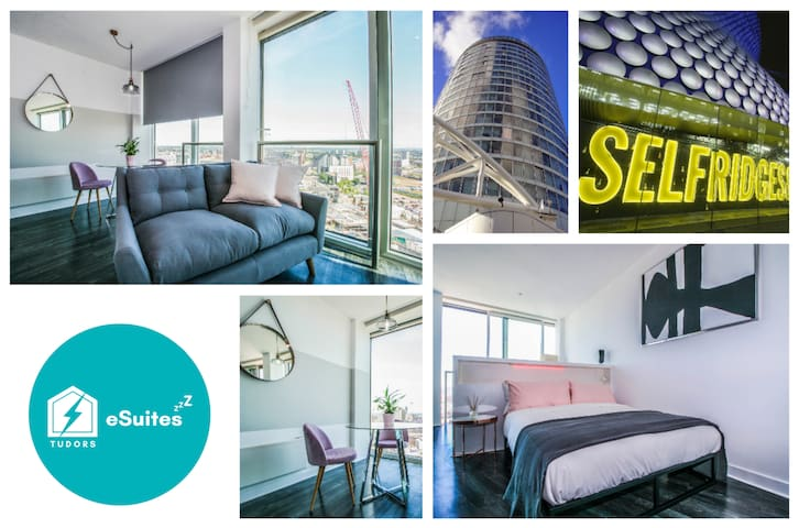 🌟Tudors eSuites🌟 Amazing City Views 👔