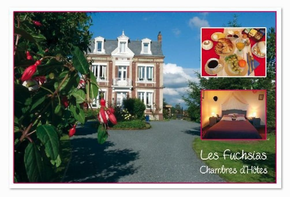 Chambres d 39 hotes pres d 39 honfleur bed breakfasts te - Chambre d hote haute normandie ...