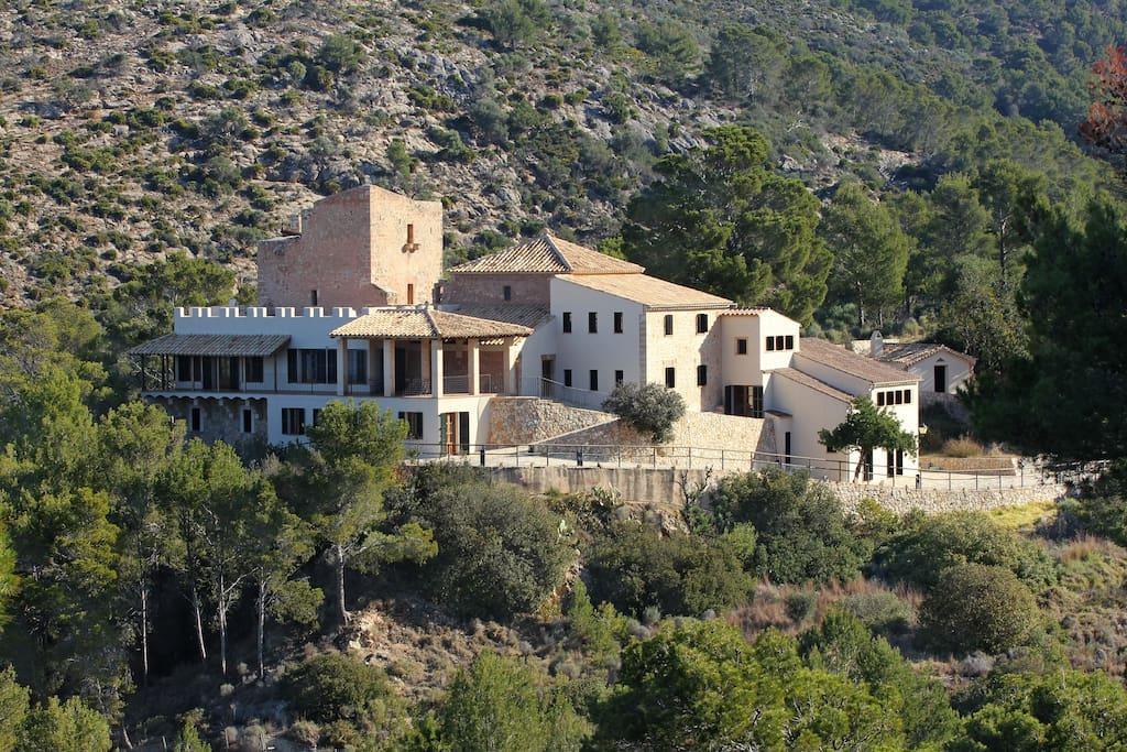 Casa castillo con vistas al mar et 4061 castillos en alquiler en andratx islas baleares espa a - Alquiler casa andratx ...